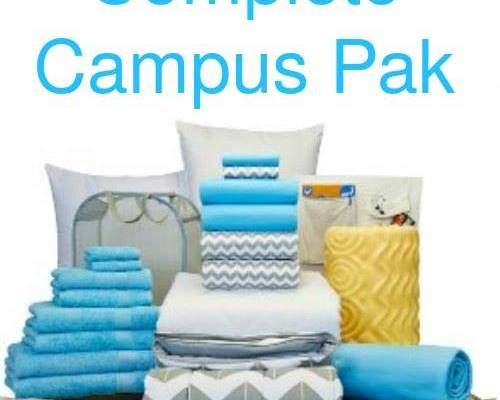 Back to School Campus Pak Giveaway