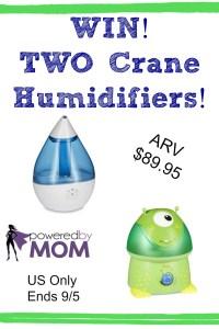 Crane Humidifier Giveaway