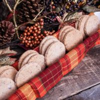 Salted Shortbread Cranberry Cookies Recipe