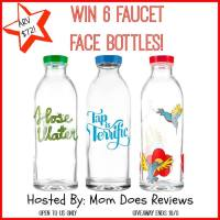 Faucet Face Bottles Giveaway