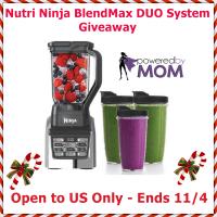 Nutri Ninja BlendMax DUO System Giveaway