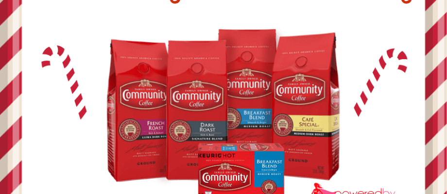 Community Coffee Holiday Giveaway