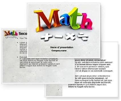 free math ppt templates - Josemulinohouse