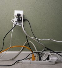 How to Manage Home Office Cords and Wires : PowerHomeBiz.com
