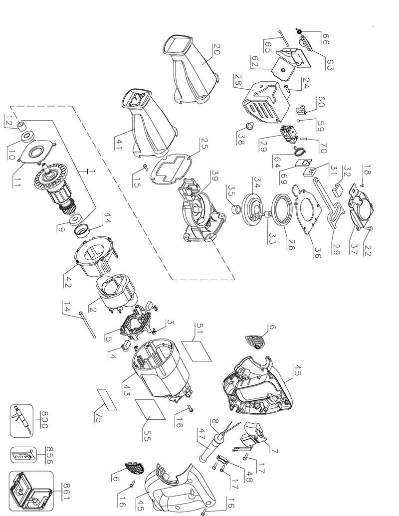 parts for dw304p type 1 powerhouse distributing