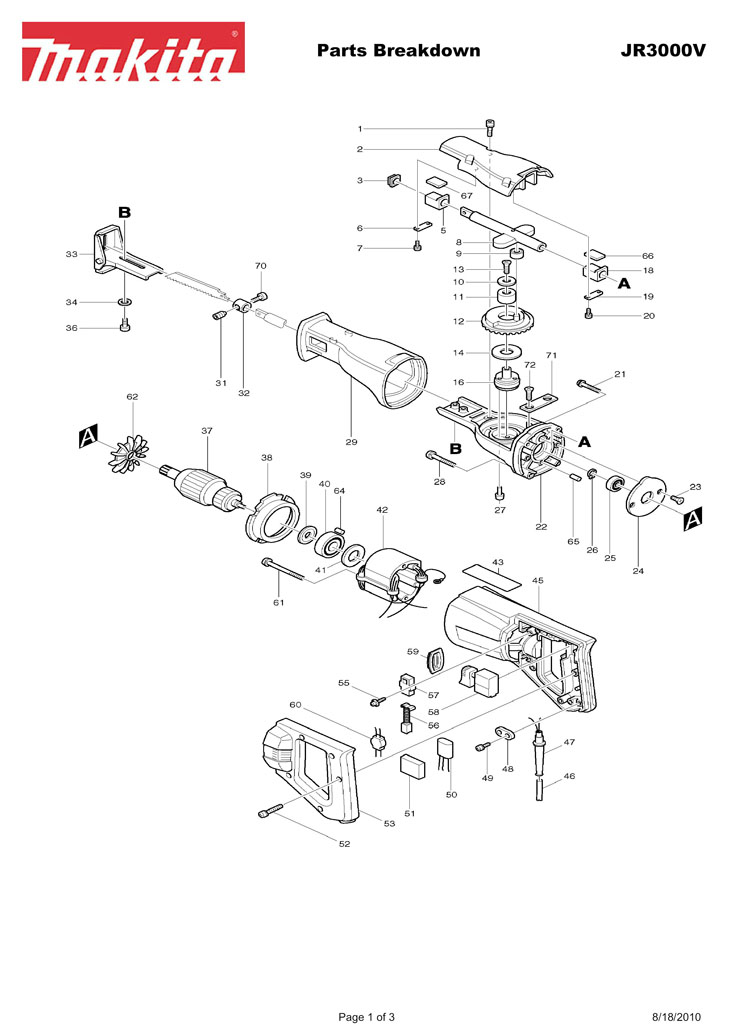 craftsman hammer drill wiring diagram