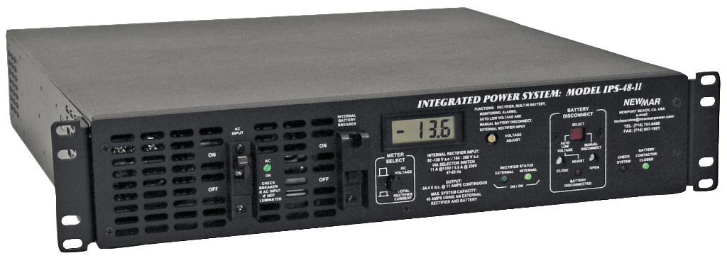 12v Dc 24v Dc And 48v Dc Rack Mount Integrated Dc Power