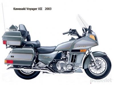 Kawasaki Voyager XII 1986 - 2004 - Powerlet Products