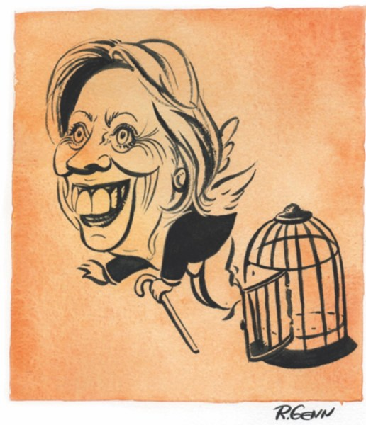 Hillary Jail Card copy