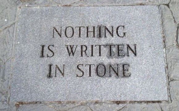 Written in Stone copy