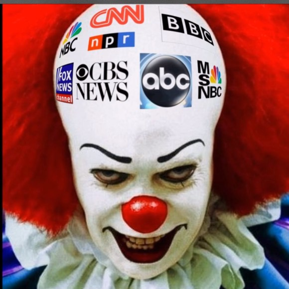 Creepy Media Clown