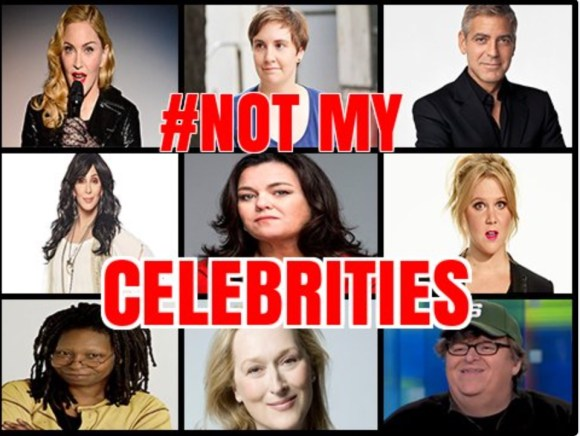 Not My celebrities
