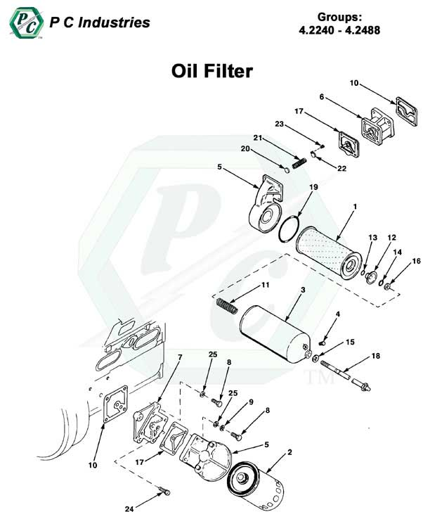 PERKINS FUEL FILTER HOUSING - Auto Electrical Wiring Diagram