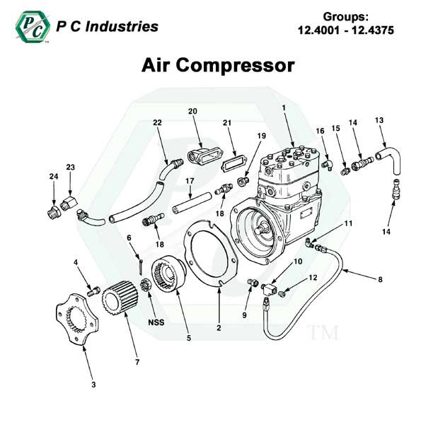 compressor engine diagram