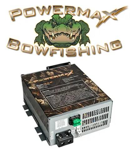 Bowfishing sponsors PowerMax Converters