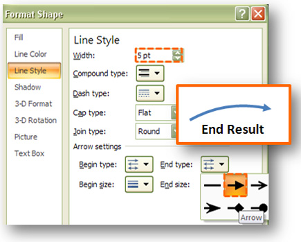 How to Create a Sexy Curved Arrow in PowerPoint PowerPoint Ninja