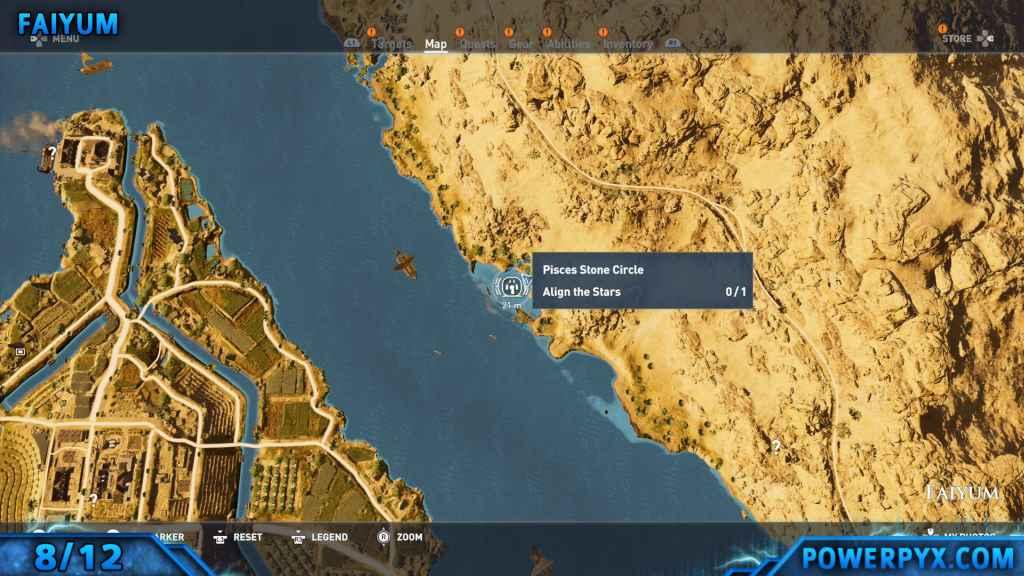 Assassin\u0027s Creed Origins All Stone Circle Locations (Bayek\u0027s Promise