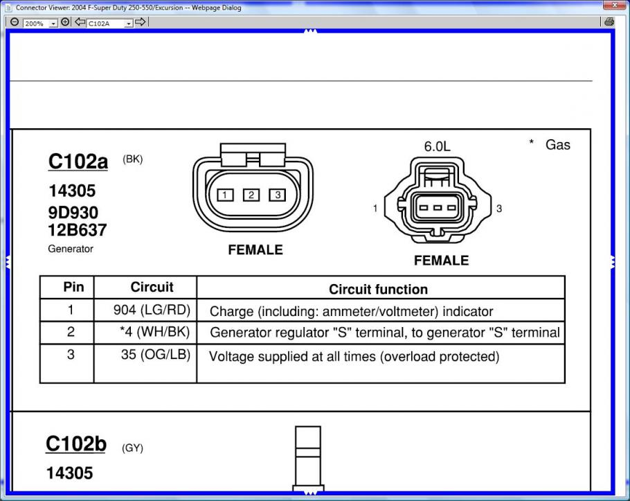 2006 ford 6 0 wiring diagrams