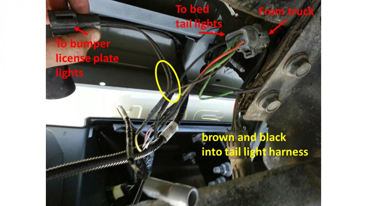 4 Wire Trailer Light Diagram Ford 2001 To 2014 Bed Swap How To Ford Powerstroke Diesel Forum