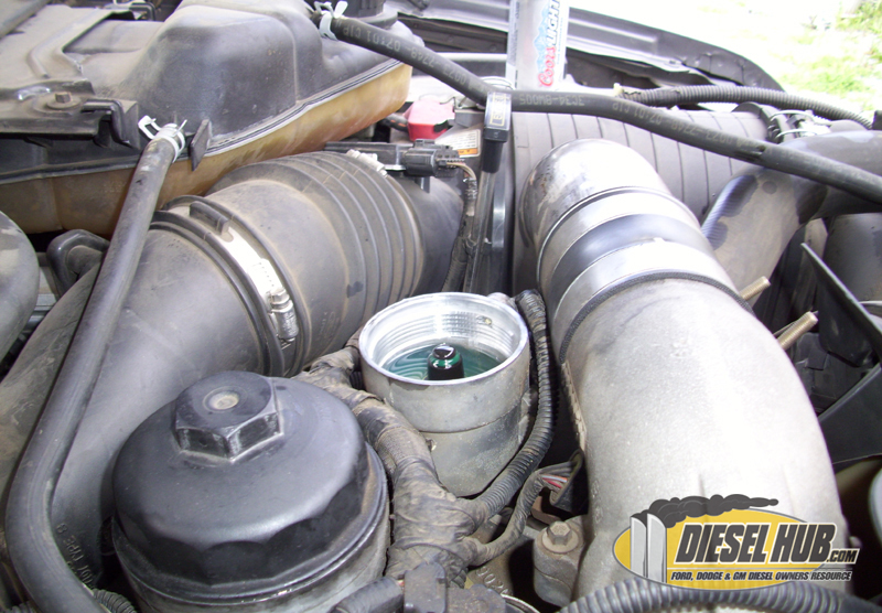 60L Power Stroke Fuel Filter Replacement Procedures