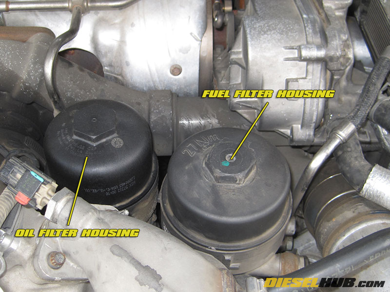 64L Power Stroke Fuel Filter Replacement Procedures