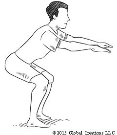 squat rack diagram