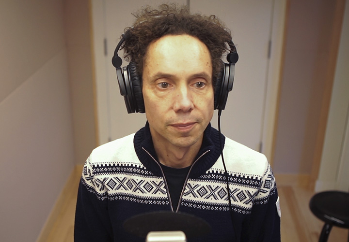 Malcolm Gladwell. (Courtesy Panoply Media)