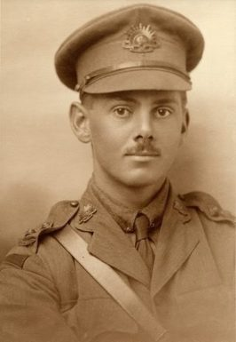 Lieutenant Harold Eric Moody - 3rd Field Artillery Brigade - WIA 21st Aug & later died 27th Aug 1916
