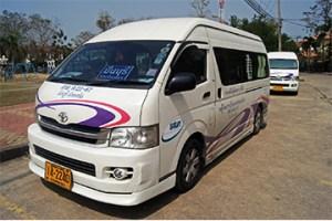 Minivan v thajsku - pronájem