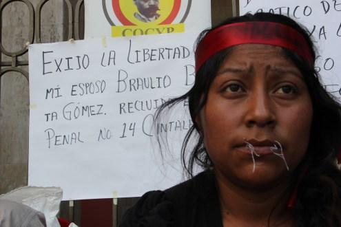 Una semana en huelga de hambre, tres costurados y no hay solución