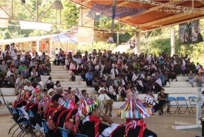 Pre audiencia del Tribunal Permanente de los Pueblos en Acteal Chiapas.