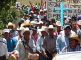 Pueblos originarios se pronuncian por la vida, la paz y contra la violencia y el despojo en Chiapas.