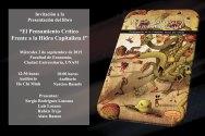 """Universidades de Guadalajara y Mérida se unen a la presentación del libro zapatista: """"El Pensamiento Crítico Frente a la Hidra Capitalista I"""""""