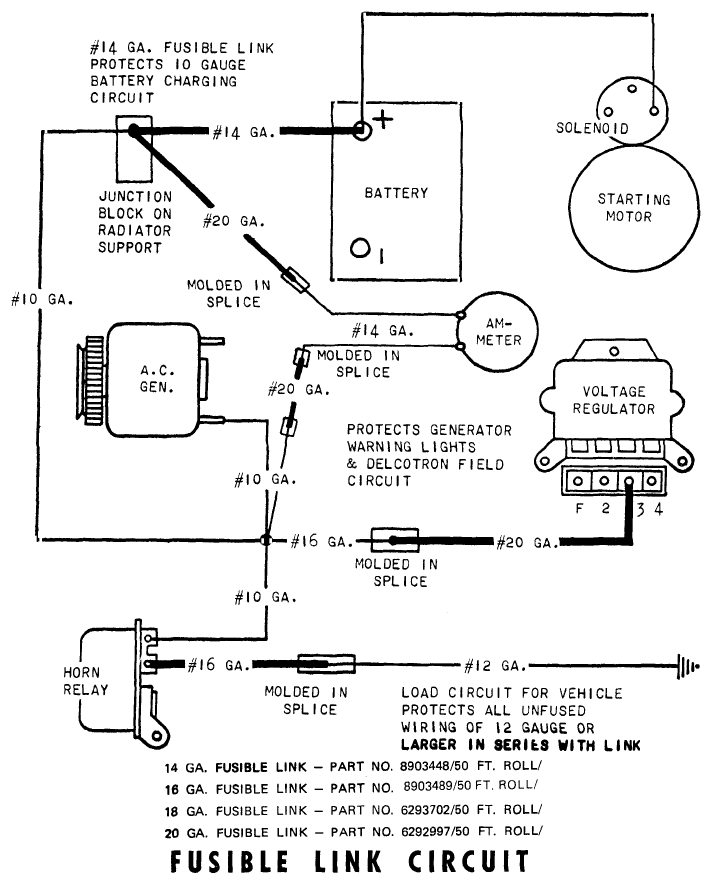 1971 Ford Alternator Wiring Control Cables  Wiring Diagram
