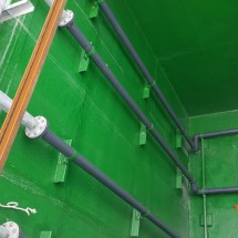 Epoxy for waste water tank