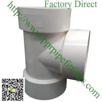 PVC DWV ASTM D2665 Fittings