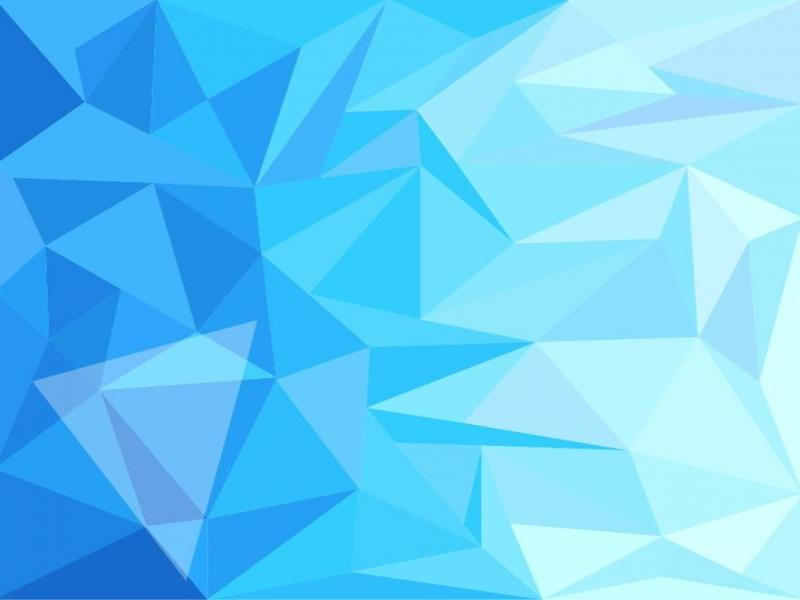 Simple Wallpaper Cute Blue Low Poly Design Abstract Wallpaper 800x600 Resolution