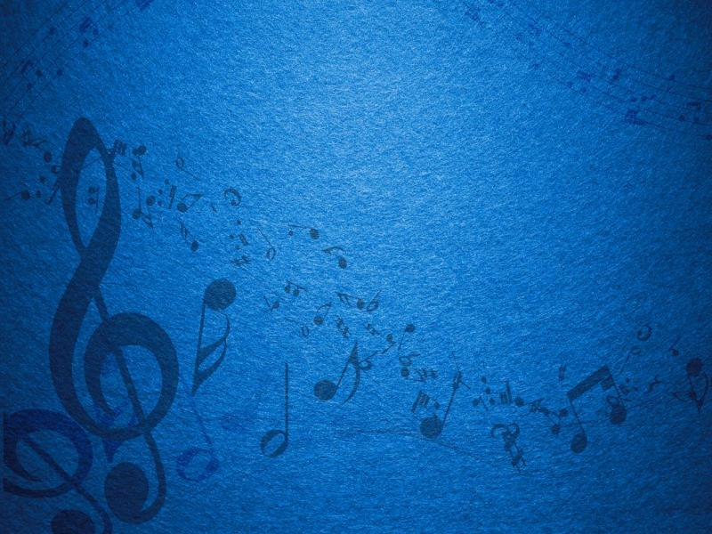 Colorful Hd Iphone Wallpapers Blue Music Notes Backgrounds For Powerpoint Templates