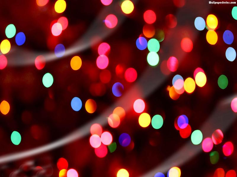 christmas lights art backgrounds for powerpoint templates ppt