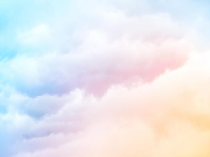 Black And White Victorian Wallpaper Pastel Clouds Presentation Backgrounds For Powerpoint