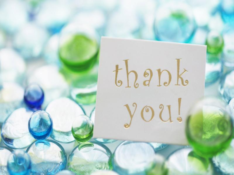 Thank You Template Backgrounds for Powerpoint Templates - PPT