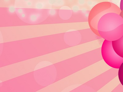Mothers Day 3d Wallpapers Blessing Bead Pink Balloons Free Ppt Backgrounds For Your