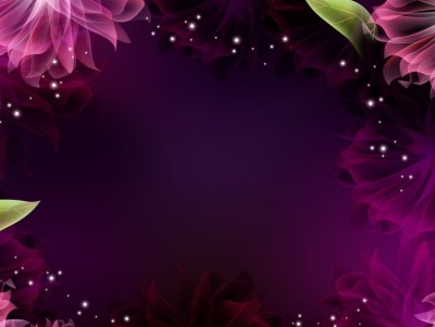3d Lotus Wallpaper Pink Shiny Flower Frame Free Ppt Backgrounds For Your