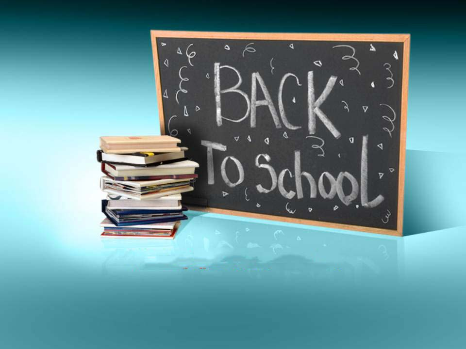 Blue background for Back to School Free PPT Backgrounds for your - ppt background school