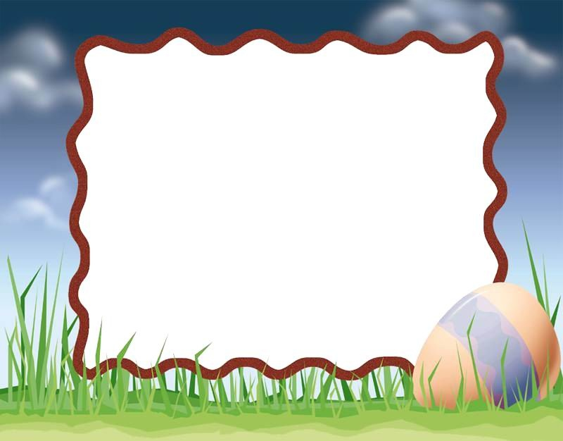Nature easter frame Free PPT Backgrounds for your PowerPoint Templates - sports background for powerpoint
