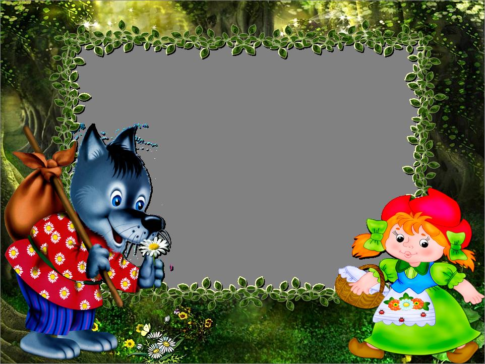 Cartoon Frame Template Free PPT Backgrounds for your PowerPoint