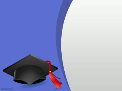 Kindergarten Graduation - Free PPT Backgrounds