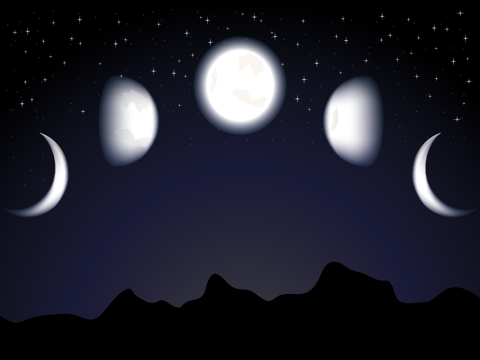 Gangster Wallpaper 3d Moon And Night Backgrounds Design Nature Templates