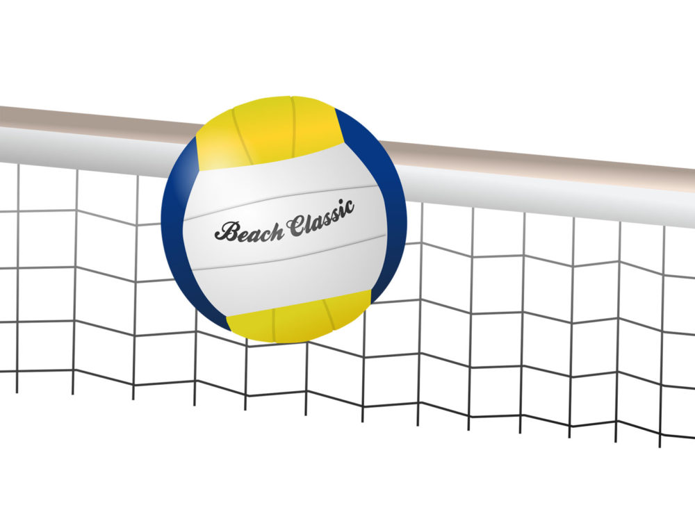 Volleyball Beach Classic Backgrounds - Holiday, Sports Templates - sports background for powerpoint