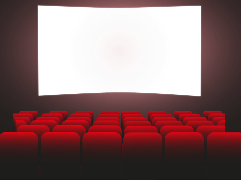 Movie Theater Backgrounds - Black, Movie  TV, Red Templates - Free